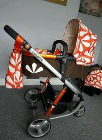 "Cosatto giggle ""sunny"" travel system"