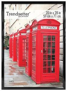 NEW MCS Trendsetter Poster Frame, 20 X 28-Inch, Black Condtion: New