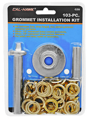 103-pc. Grommet Installation Kit Tarps Tents Awning Flags Canopy Repairs Tool*