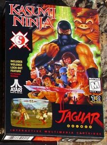 Kasumi Ninja Atari Jaguar in Box with Manual & Head Band NEW Factory Sealed