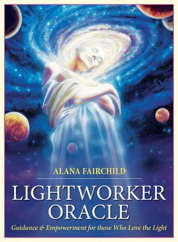 LIGHTWORKER ORACLE Guidance Empowerment 44 Card Deck & 140 Page Guidebook Set