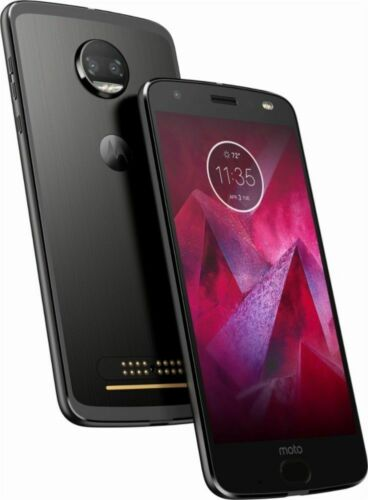 New Motorola Moto Z2 Force 64GB XT1789-01  Unlocked Black, G