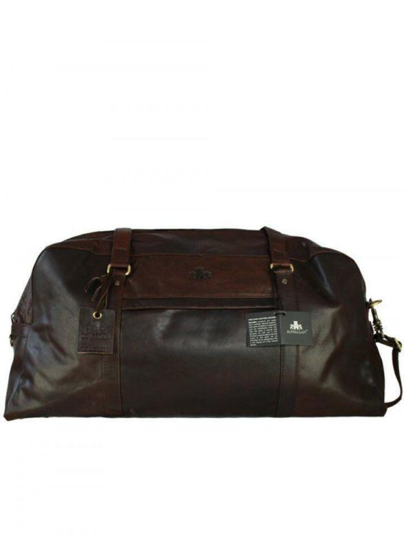 Mens Leather Weekend Bag | eBay