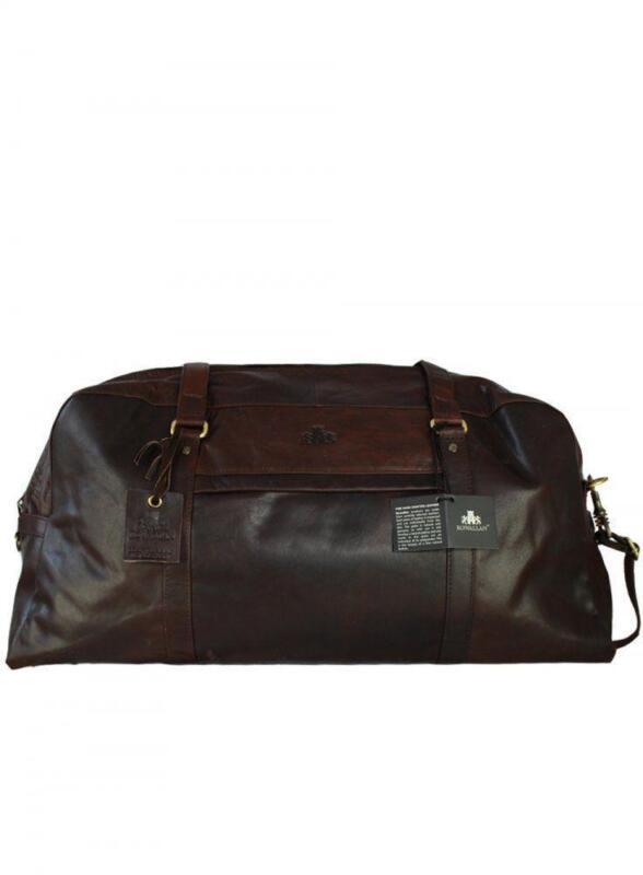 Mens Leather Weekend Bag Ebay