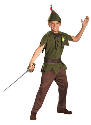 BOYS DISNEY CLASSIC PETER PAN COSTUME SIZE 4-6 DG5963L