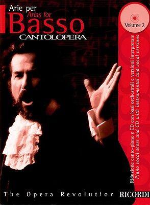 Cantolopera: Arias for Bass Volume 2 Cantolopera Collection Vocal NEW 050484608