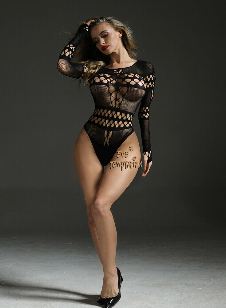 Sexy Babydoll Lingerie Underwear BODYSTOCKING Chemises Bodysuits garters cosplay