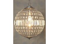 BHS Chandelier no fittings hence price (STUNNING)