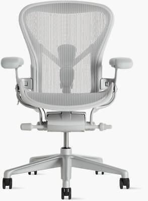 Authentic Herman Miller Aeron Chair B - Medium Size Design Within Reach