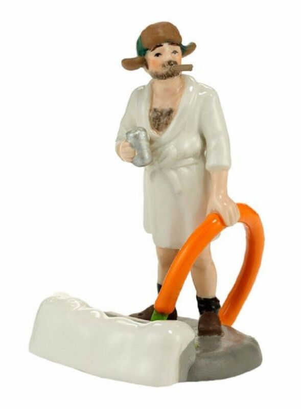 Department 56 Christmas Vacation Cousin Eddie in the Morning Figurine 4030741