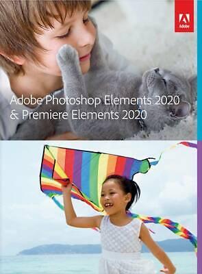 Adobe - Photoshop Elements 2020 & Premiere Elements 2020 - Mac, Windows