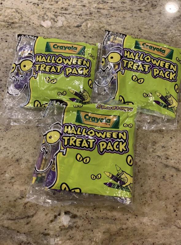Halloween Treat Packs Crayola Crayons - 56 Individually Wrapped Packs