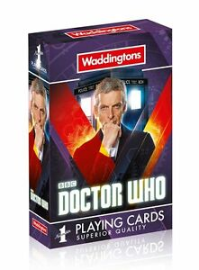 Doctor Who Playing Cards - Waddingtons