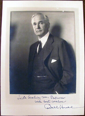 U S  Secretary Of State Cordell Hull Signed Photograph