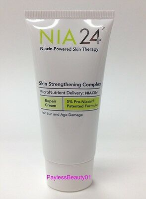 NIA24 Skin Strengthening Complex 1.7 oz - NEW in BOX - Seal under Lid on Rummage