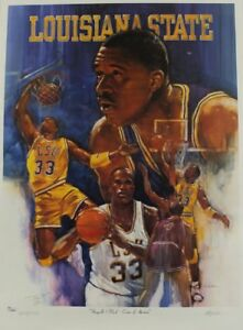Shaquille O'Neil signed lithograph