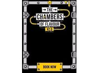 2 x tickets Gingerline Chamber of Flavours! Sat 15th 830pm