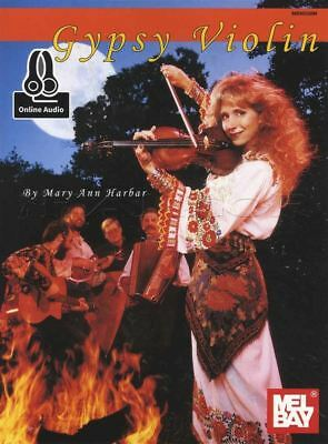 Gypsy Violin Sheet Music Book with Audio by Mary Ann Harbar Learn To Play -