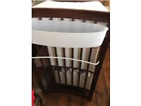 Stokke Care Changing Table - Dark Wood