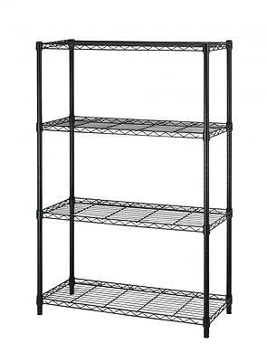 36x14x54 4 Tier Layer Shelf Adjustable Steel Wire Metal Shelving Rack T54