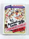 Topps Carl Yastrzemski Pack Baseball Cards