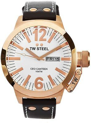 NEW TW Steel Men's CEO Canteen Quartz Watch - CE1018
