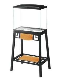 NEW AQUEON Forge Aquarium Stand, 20 by 10-Inch Condtion: New, 20 by 10-Inch