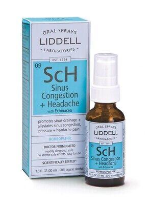 Sinus Congestion Liddell Homeopathic 1 oz Liquid Homeopathic 1 Ounce Liquid