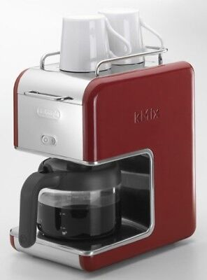 NEW DeLonghi kMix drip coffee maker 6 cups manufacturer Red CMB6-RD from Japan