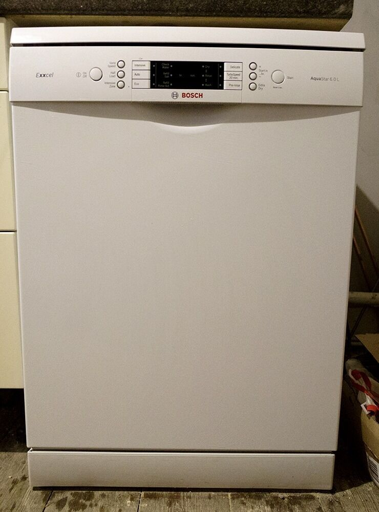 Bosch Exxcel SMS65E32GB Freestanding Dishwasher - under guaranty - perfect condition - A++ energy