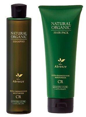 Abreeze Natural Organic Shampoo CR & Hair pack CR Treatment Hair care Scalp Care