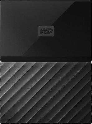 WD - My Passport 2TB External USB 3.0 Portable Hard Drive - Black