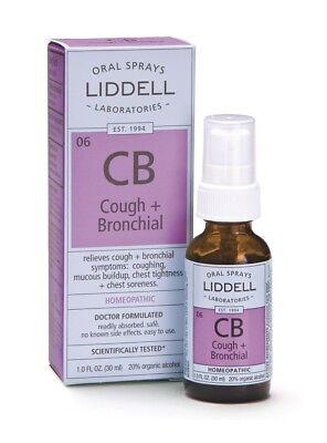 Cough & Bronchial Congestion Liddell Homeopathic 1 oz Liquid Homeopathic 1 Ounce Liquid