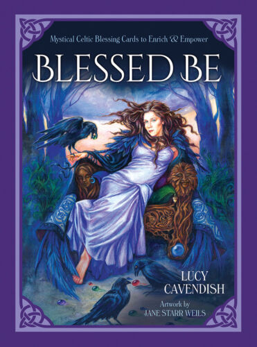 Blessed Be Oracle NEW 46 cards Reconnect with Divine Lucy Cavendish Jane Weils
