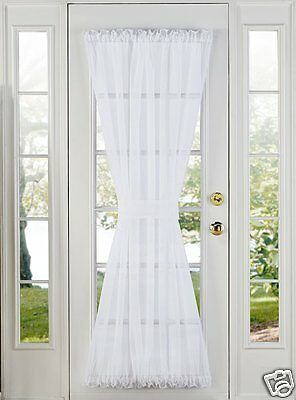 SHEER VOILE DOOR PANELS, CURTAINS FOR FRENCH DOORS](Curtains For Door)