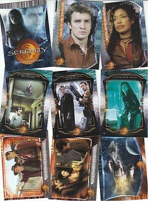 Serenity The Movie - 72 Card Basic/Base Set