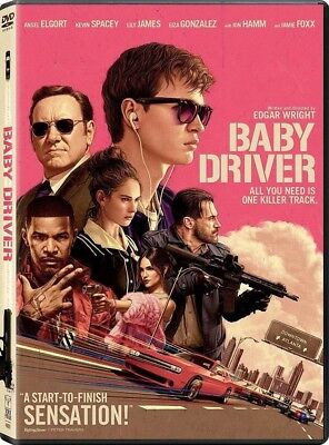 - Baby Driver (DVD, 2017) NEW