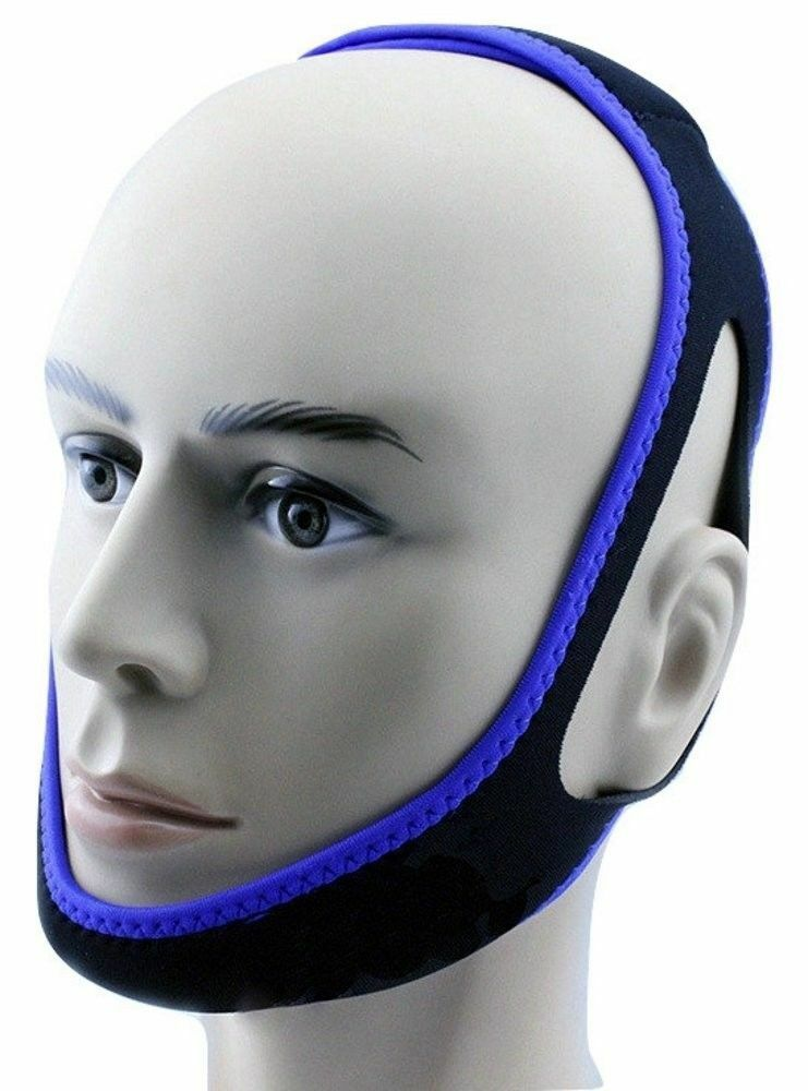 Snore Stopper Anti Snore Chin Strap Sleep Apnea Cpap Aid Solution Fast Shipping Chin Straps