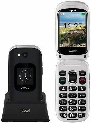 Tiptel Seniorenhandy Ergophone 6420 schwarz ++TESTSIEGER 2021++