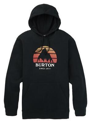Burton Mens Underhill Pullover Hoodie True Black