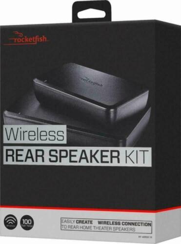 Rocketfish Wireless Home Theater Rear Speaker Kit - Model: RF-WRSK18