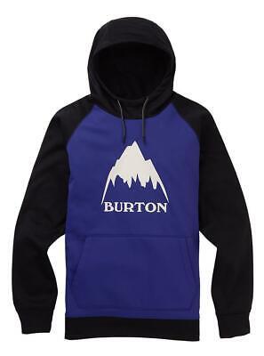 Burton Crown Bonded PO Hoody Royal Blue / True Black