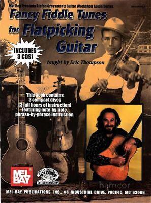 Fancy Fiddle Tunes for Flatpicking Guitar TAB Book 3CDs