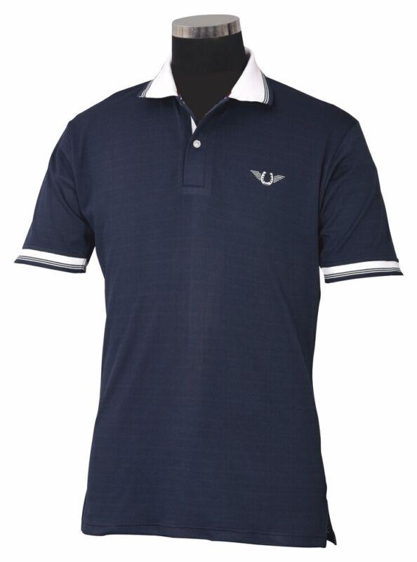 TuffRider Men's Mark Short Sleeve Polo Sport Shirt