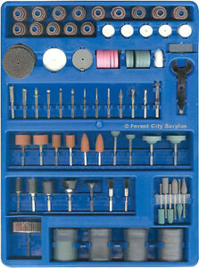 New - 251 PIECE ROTARY TOOL SET - Polishing - Drilling - Cutting
