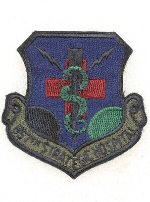 USAF Air Force Patch: 857th Strategic Hospital - subdued