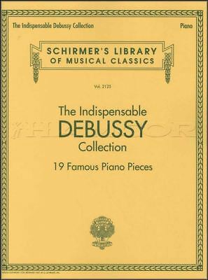 The Indispensable Debussy Collection Piano Sheet Music Book Classical Claude