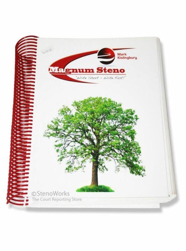 Magnum Steno Write Short - Write Fast  by Mark Kislingbury Good Condition