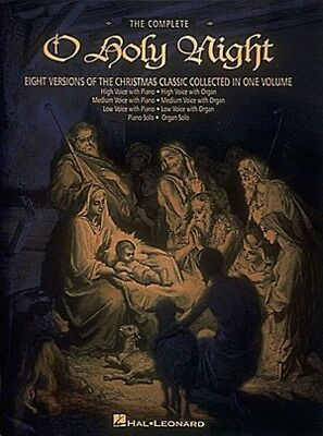 The Complete O Holy Night Keyboard Vocal Vocal Collection NEW 000747046