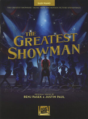 The Greatest Showman Easy Piano Sheet Music Book Musical Soundtrack Come Alive